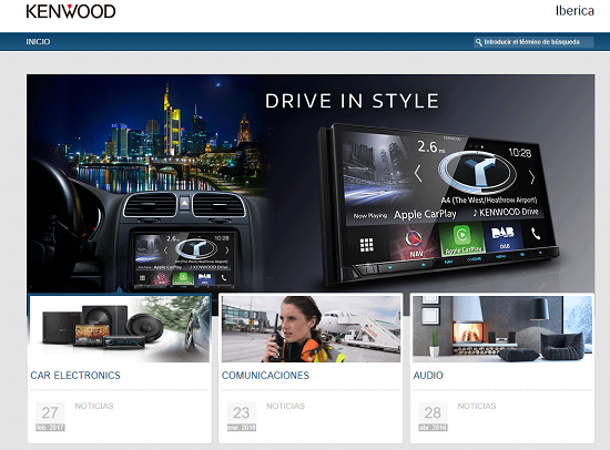 Home page Kenwood