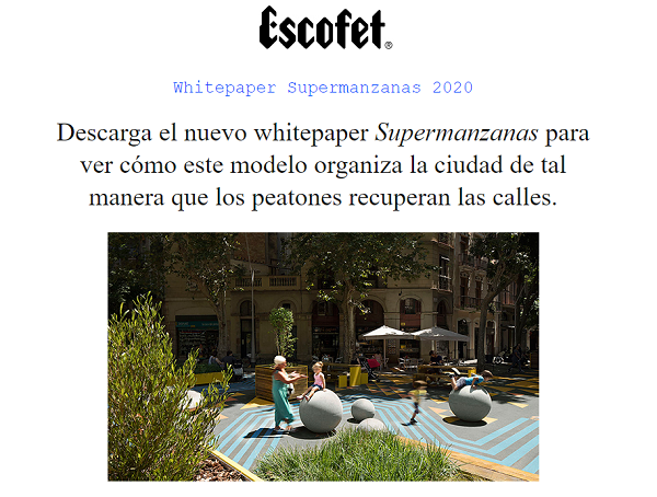 Campaña inbound Escofet